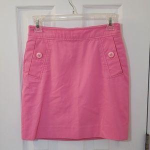 Lilly Pulitzer Pink Pencil Skirt Pockets